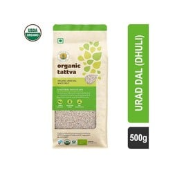Organic Tattva White Urad Dal 500 gm