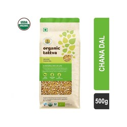 Organic Tattva Chana Dal 500 gm