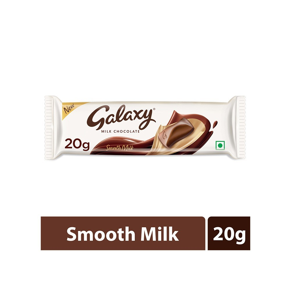 Buy Galaxy Smooth Milk Chocolate 19 gm online at lowest price ...