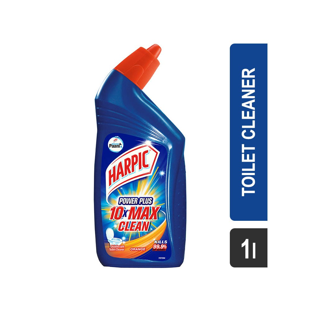 Mr muscle bathroom and toilet cleaner - Harpic Power Plus Orange Toilet Cleaner