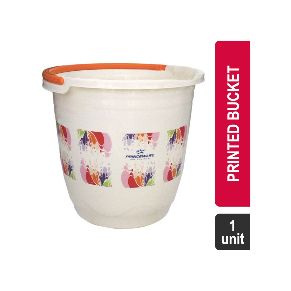 Princeware 1075P Frosty Wave Printed Bucket @ 195/- (63% off