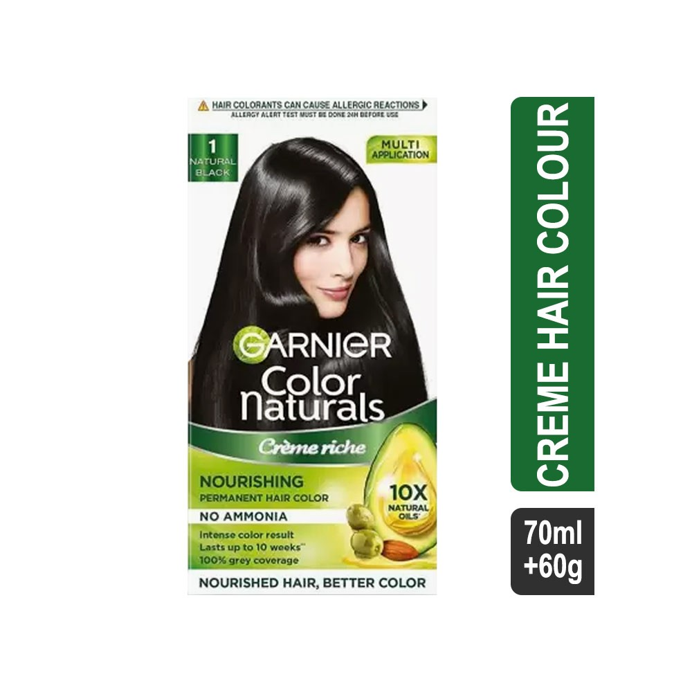 Buy Garnier Color Naturals Natural Black Hair Colour 1 675 Ml40