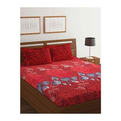 1ee1c453a2 ... with the One Double Bed Sheet. It features a stylish design that makes  it look appealing. This set comes with one bed sheet and 2 Pillow Covers.
